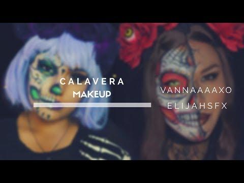 Xxx Mp4 Calavera Makeup Tutorial VANNAAAAXO 3gp Sex