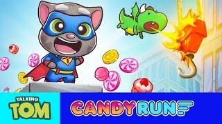 👑 5 Super Sweet Tips - Talking Tom Candy Run Gameplay