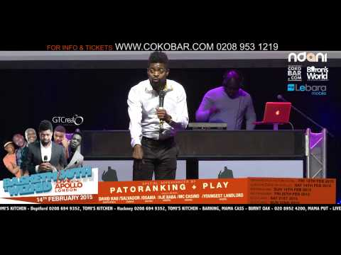 Comedy - Basketmouth Live At The Apollo ( Stand-Up ) Cover