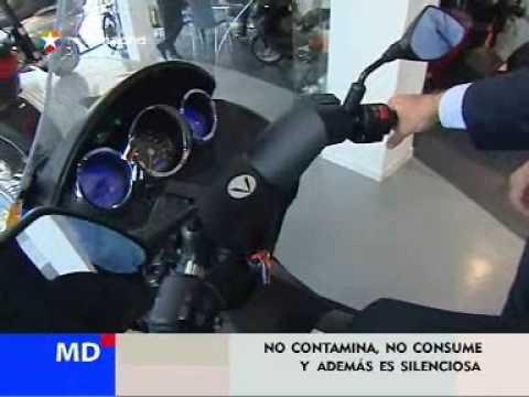 Llegan a Madrid las motos ecológicas