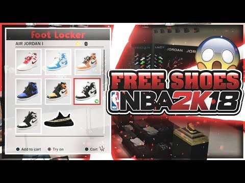 HOW TO GET ANY SHOE & CLOTHES FOR FREE ON NBA 2K18! GAME BREAKING GLITCH 100% WORKING! | NBA 2K18