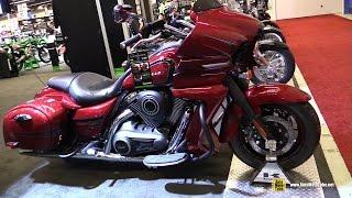 2017 Kawasaki Vulcan 1700 Vaquero - Walkaround - 2017 Montreal Motorcycle Show
