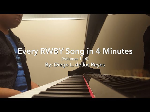 Every RWBY Song in 4 Minutes