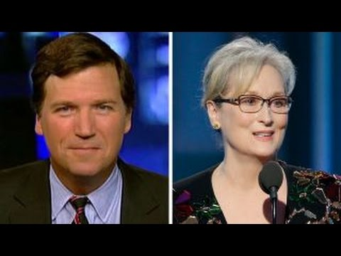Tucker Carlson responds to Meryl Streep She s no outsider