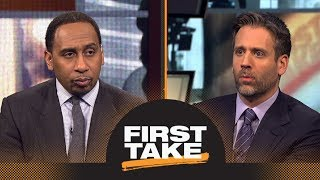 Stephen A. and Max debate whether Lakers made the right trade moves | First Take | ESPN