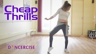 Cheap Thrills by Sia ft Sean Paul | Dance Tutorial by Aditi Saxena | Dancercise