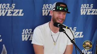 Chase Rice Talks About His Pectoral Injury   2018 Party in the Park