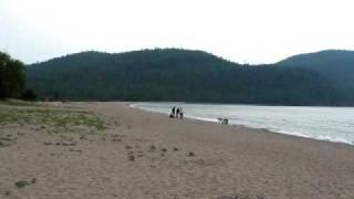 Old woman bay Lake Superior