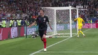 16 Mario Mandzukic Goal – Croatia v England – MATCH 62