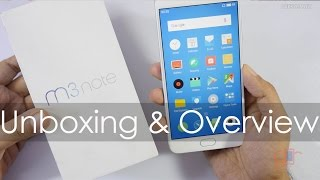 Meizu M3 Note Unboxing & Overview Good Specs affordable Pricing