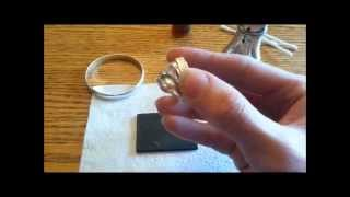 How to Test and Polish Sterling Silver 925 Jewelry Identifying fake Tiffany & Co, Acid Test Tarn-x