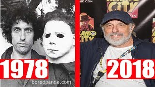 Halloween 1978 Cast - Then and Now
