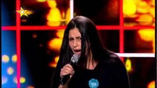 Radics Gigi a Megasztár válogatásán (2012) - tv2.hu/megasztar