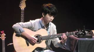 (Hisaishi Joe) Howl's Moving Castle - Sungha Jung (Live)