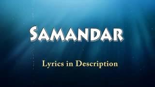 Samandar Hindi song 2015