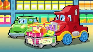 """06 """"Supermarket""""@""""Mr.Wheeler&Friends"""" CARtoons"""