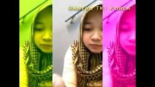 TKW Cantik Indonesia Pamer Mecahi HP - Gadis Berjilbab Bawa Palu