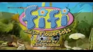 Фифи и цветочные малыши- Фифи делает пугало.