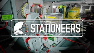 STATIONEERS | SPACE SURVIVAL BY DEAN HALL DAYZ - Let
