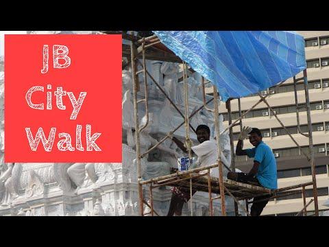 JB city walk - Johor Bahru by foot. 旅♪ 街歩き in マレーシア ジョホールバル