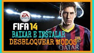 COMO BAIXAR E INSTALAR FIFA 14 PARA ANDROID COM TODOS OS MODOS DESBLOQUEADOS🔝