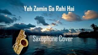 Yeh Zamin Ga Rahi Ha i| Teri Kasam| Amit Kumar| Saxophone Instrumental| Suhel Khilji