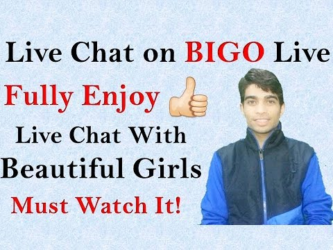 How to Live Chat on BIGO - Use BIGO Live app!!😀