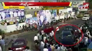 Ysrcp Members attack Allagadda MLA Akhila Priya's convoy ||99Tv||