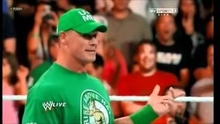 WWE Raw 4/2/12 Brock Lesnar Returns to WWE 2012 HD 1080p