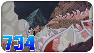 DOFLAMINGOS ENDE! One Piece Episode/Folge 734 (German/Deutsch) Review