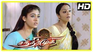 Chandramukhi Tamil Movie | Jyothika seeks Nayanthara help | Rajinikanth | Prabhu | Vadivelu