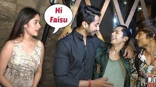 Mr Faisu IGNORES Jannat Zubair At Siddharth Nigam Birthday Party 2019