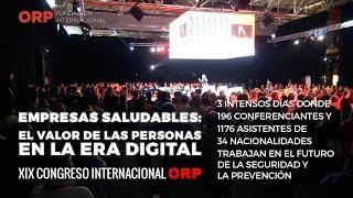 🔴 XIX CONGRESO INTERNACIONAL #ORP2019 MADRID