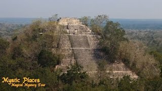 1.9 Mystic Places- Calakmul, Maya Pyramids Of The Snake Kingdom. Mexico