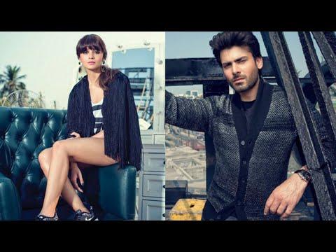Alia Bhatt - Fawad Khan HOT Photoshoot Pics