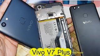 How To Open VIVO V7 PLUS  Back Panel || Vivo V7 Plus Back cover and Fingerprint Scanner
