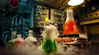 Halloween White Noise | Mad Scientist Laboratory Sounds | 10 Hours