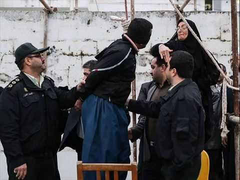 IRAN MOTHER SPARES LIFE OF SON KILLER WITH SLAP