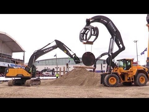 The Big Volvo Demo Show @ Bauma 2016 Part 2