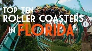Top Ten Roller Coasters in Florida