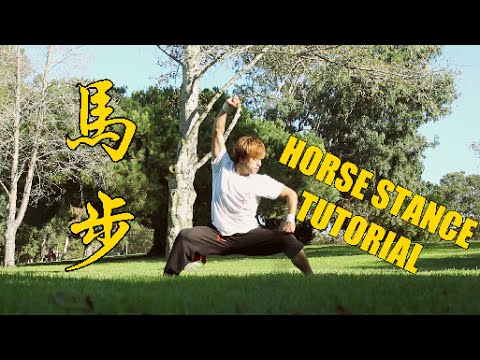 HOW TO DO A HORSE STANCE - TUTORIAL 馬步