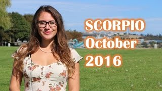SCORPIO October 2016 Horoscope. The GODESS of LOVE is with YOU! Monthly Astrology Forecast