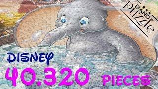 40.320 Pieces World Record Puzzle Timelapse | Ravensburger & Disney | Dumbo