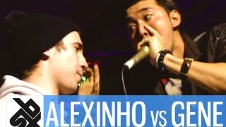 ALEXINHO vs GENE  |  Grand Beatbox 7 TO SMOKE Battle 2017  |  Battle 10