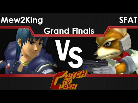watch CCC - Mew2King (Marth) vs CLG   SFAT (Fox, Marth) Grand Finals - Melee