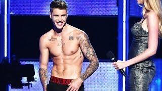 Justin Bieber Gets Booed & Then Strips To His Underwear