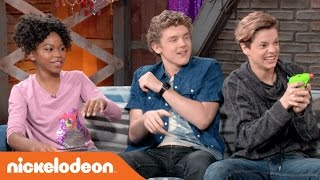 Jace Norman, Riele Downs & More Nick Stars Party at the After Party!!   Behind the Scenes