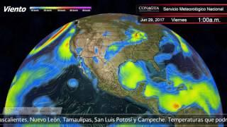 28 de junio de 2017 1900h Pronóstico del Tiempo