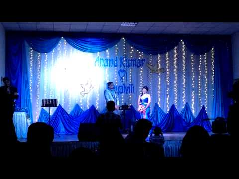 Anand & Kayal wedding Reception