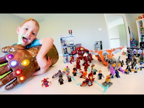 FATHER SON ULTIMATE LEGO BATTLE Avengers INFINITY WAR